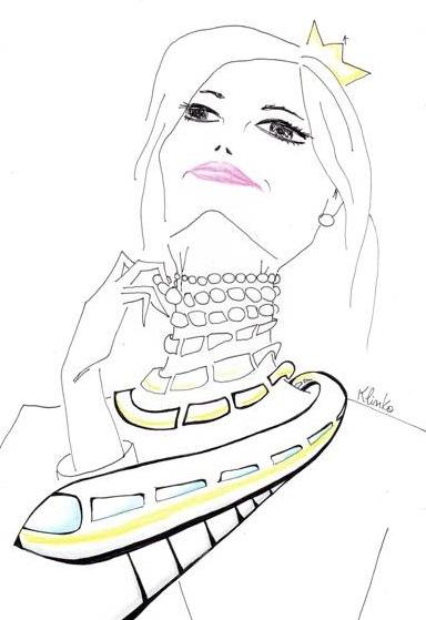 Excelente caricatura realizada por Klinko.com.ar, vista en eBlog.com.ar